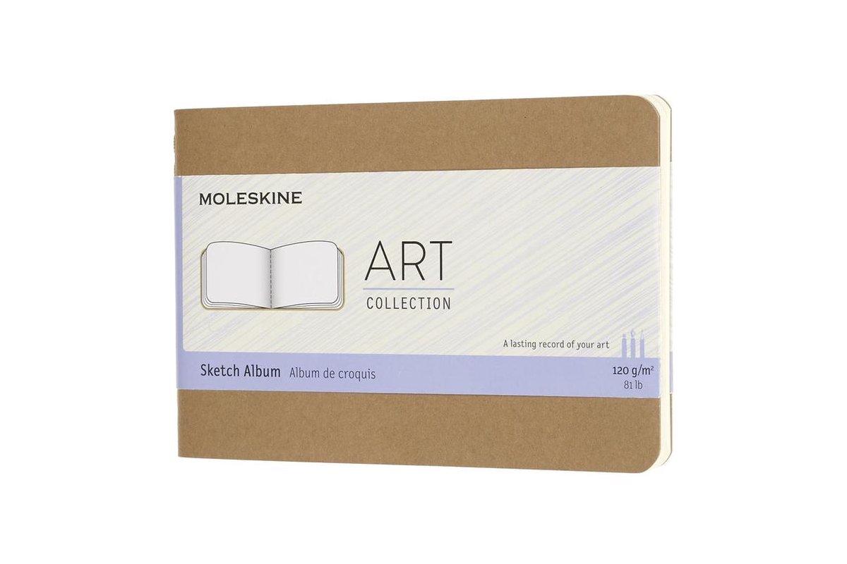 Moleskine Schetsalbum-Pocket-Bruin