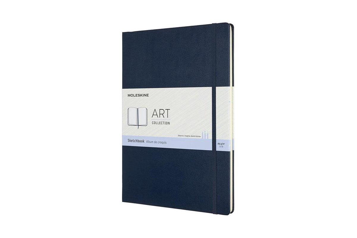 Moleskine Art Sketchbook, A4, Sapphire Blue