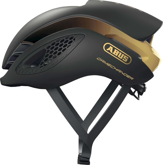 ABUS GameChanger Fietshelm - Maat M (52-58 cm) - black gold
