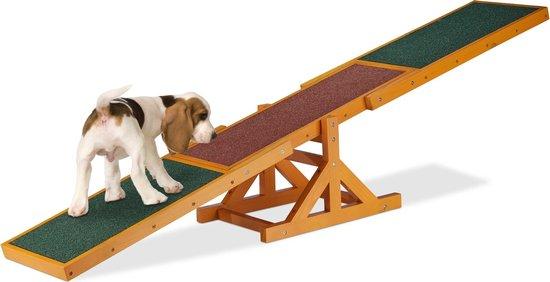 relaxdays agility wip hond - hondenwip - agility toestel - behendigheid