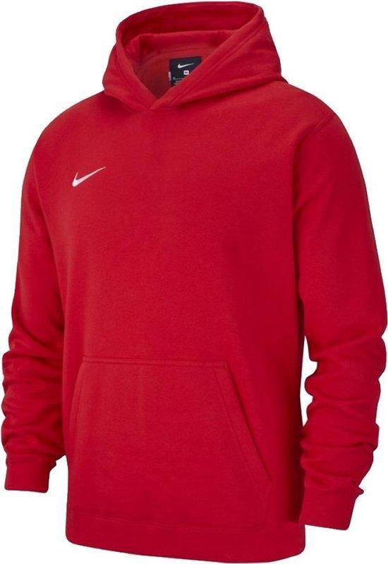 | Nike Club 19 Hoodie Kinder Sweater Rood maat