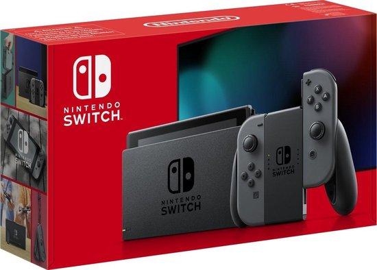 Afbeelding van Nintendo Switch Console - Grijs - Verbeterde accuduur - Nieuw model