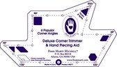 Marti Michell Quilt Template 8217 Deluxe Corner Trimmer Template