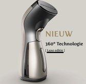 H2O Steamy Kledingstomer – Handstomer - Krachtige Kreukel Verwijderaar - Vlekkenverwijderaar – Schoonstomer – Lichtgewicht