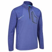 Evolve Half Zip Fleece Trui - Midnight Blauw