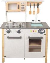 Tien Tenen - Houten Keuken - Kinder keuken - Speelgoed keuken