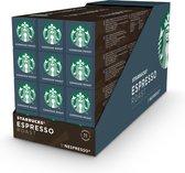 Starbucks® Espresso Roast by Nespresso® Dark Roast - 12 x 10 koffie capsules