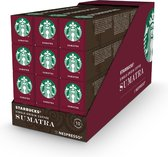 Starbucks by Nespresso Sumatra Espresso Dark Roast capsules - 120 koffiecups