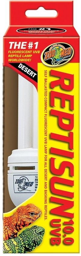 ZM ReptiSun 10.0 Compact Fluorescent 26 w. - ZooMed