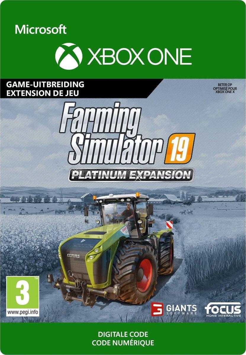 Farming Simulator 19: Platinum Expansion - Xbox One download