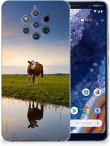 Nokia 9 PureView TPU Hoesje Koeien