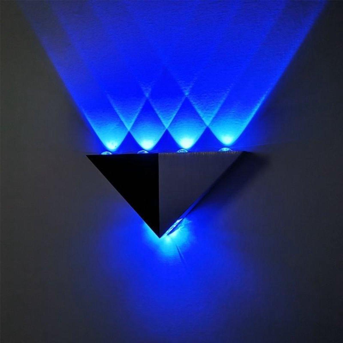 Bol Com Ywxlight 5w Driehoek Creatieve Led Muur Lamp Corridor Gangpad Lichten Bar Slaapkamer