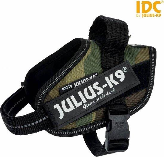 Julius K9 IDC Powertuig/Harnas - Maat 2/71-91cm - XL - Blauw