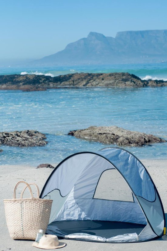 Deryan Beachtent - Pop Up - Silver - Strandtent