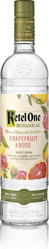 Ketel One Botanical Grapefruit Rose - 70 cl