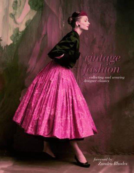Boek cover Vintage Fashion van Emma Baxter-Wright (Paperback)