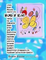 lernen Kunst Malbuch inspiriert von Hilma af Klint einfach f r Erwachsene Kinder kreativ Spa K nstlerisch Entspannend Angenehm Benutzen dekorieren Geschenk Andenken Gru karte Handgefertigte Zeichnungen