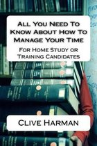 All You Need to Know about How to Manage Your Time