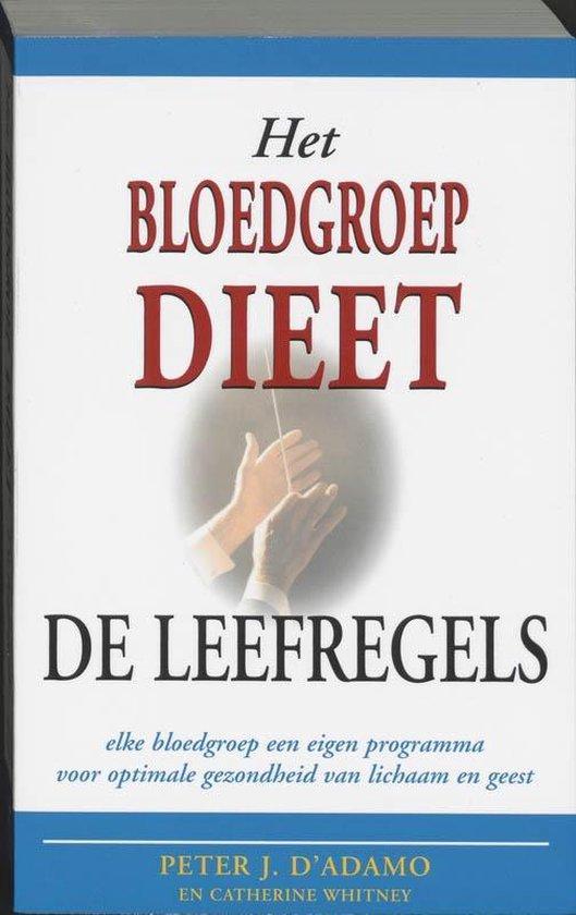 Het bloedgroepdieet / De leefregels - P.J. D'Adamo pdf epub