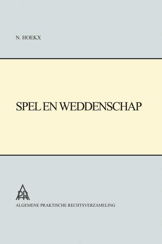 Spel en Weddenschap - N. Hoekx pdf epub