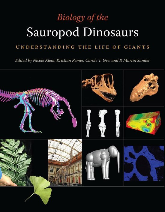 Boek cover Biology of the Sauropod Dinosaurs van Oliver Wings (Onbekend)