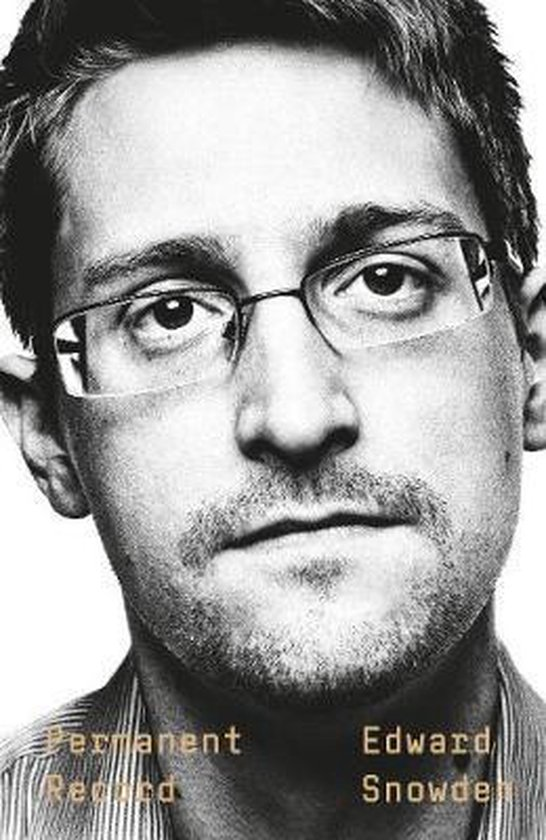 Boek cover Permanent Record van Edward Snowden (Hardcover)