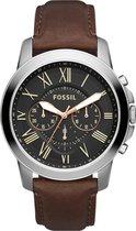 Fossil Zilverkleurig Mannen Horloge FS4813