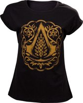 ASSASSIN'S CREED MOVIE- T-Shirt Crest Logo GIRL (L)