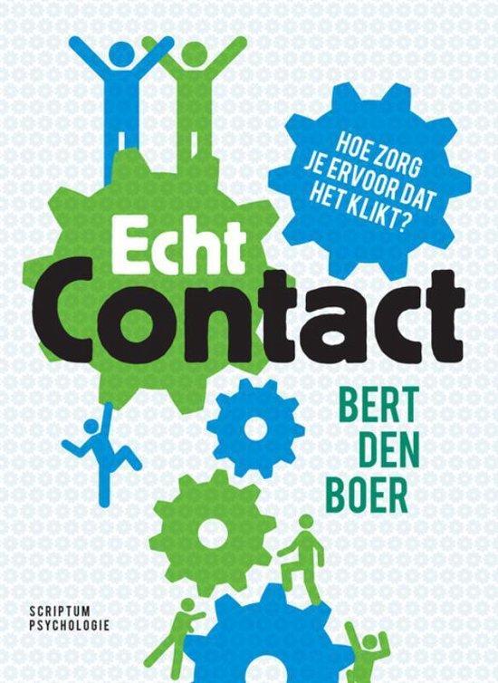 Echt contact - Bert Den Boer |