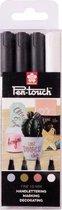Sakura Pen-Touch 4 decomarkers - fijn - 1mm