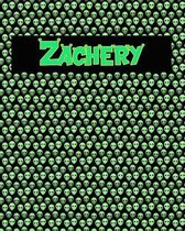 120 Page Handwriting Practice Book with Green Alien Cover Zachery