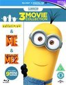 Minions / Despicable Me 1 + 2  (Import) (blu-ray)
