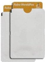 10-pack Bankpas | OV | ID-kaart beschermer - RFID blocker blokkerend zilverkleurig