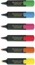 tekstmarker Faber Castell 48 promoset 6 fluorkleuren +2 gratis FC-154862