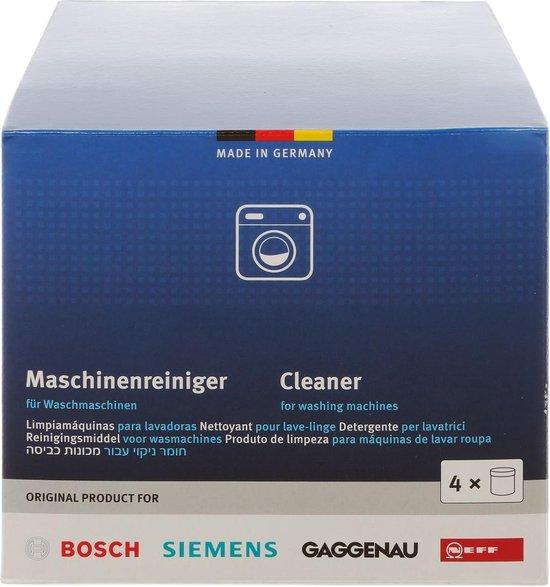 Bosch / Siemens Wasmachine reiniger - 4 stuks 200 gram