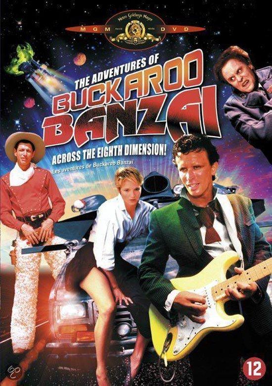 Cover van de film 'Adventures Of Buckaroo Banzai'