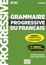 Boek cover Grammaire progressive du français 3e édition - niveau avancé livre + CD audio + appli-web van
