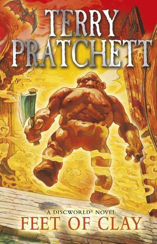 Boek cover Feet of Clay van Sir Terry Pratchett (Onbekend)