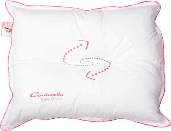 Cinderella New Classic Hoofdkussen - Soft - Synthetisch - 70x60cm