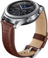 Samsung Leren bandje - Samsung Gear S3 - bruin