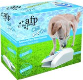All For Paws Chill Out Drinkfontein - Blauw/Wit