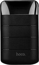 HOCO Domon 10000mAh Noodaccu Noodstroom Backup batterij 1A/2A met zaklamp - Zwart