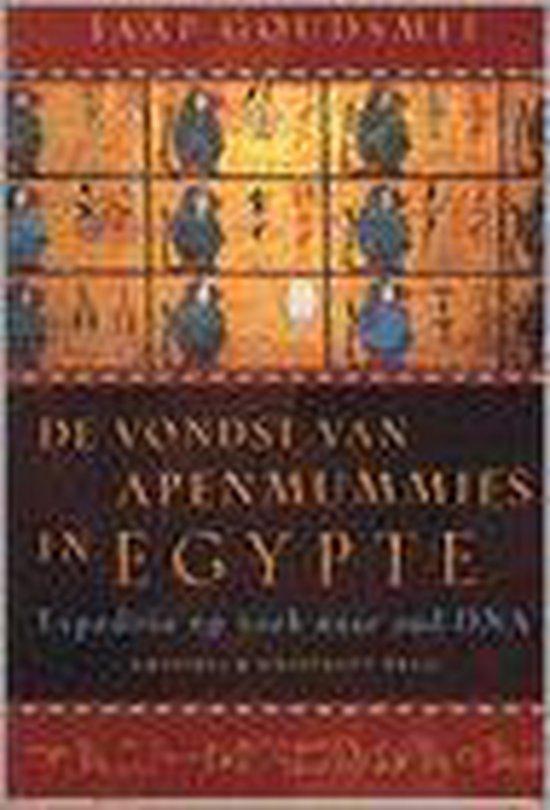 Boek cover De vondst van apenmummies in Egypte van Jaap Goudsmit (Paperback)