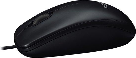 Logitech M90 - Muis - Zwart