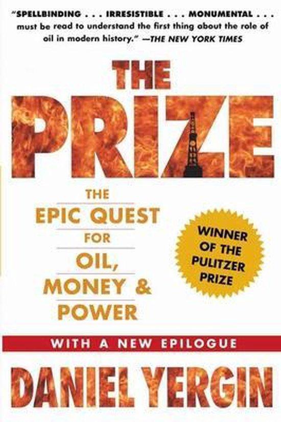 Boek cover The Prize van Daniel Yergin (Paperback)
