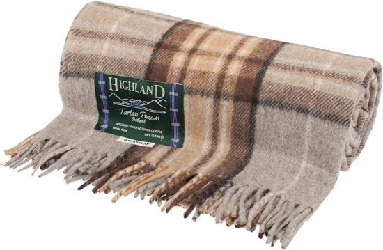 Highland Tartan Tweeds of Scotland Mackellar