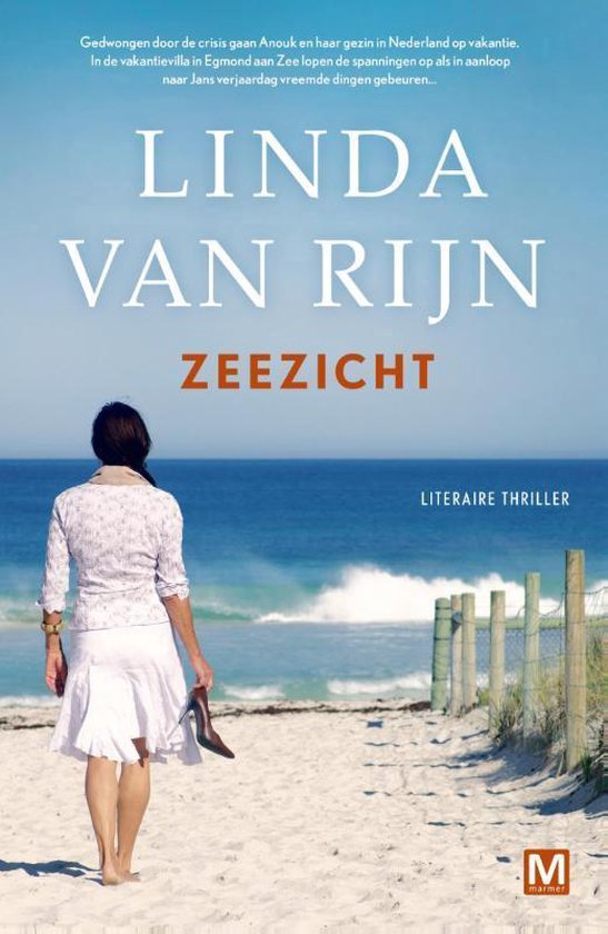 Boek cover Zeezicht van Linda van Rijn