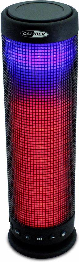 Caliber HPG423BTL - Bluetooth speaker met led-verlichting - Zwart