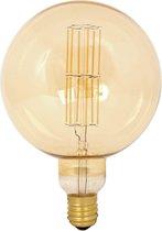 Calex Giant Megaglobe - Goud - Led lamp - Ø200mm - Dimbaar - E40 Fitting - Energielabel A+