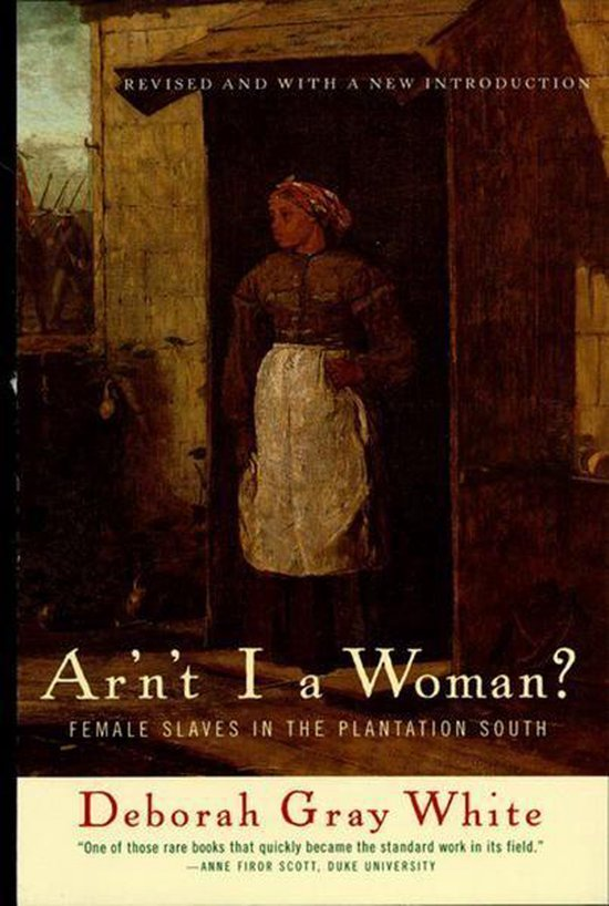 Boek cover Arnt I a Woman?: Female Slaves in the Plantation South (Revised Edition) van Deborah Gray White (Onbekend)
